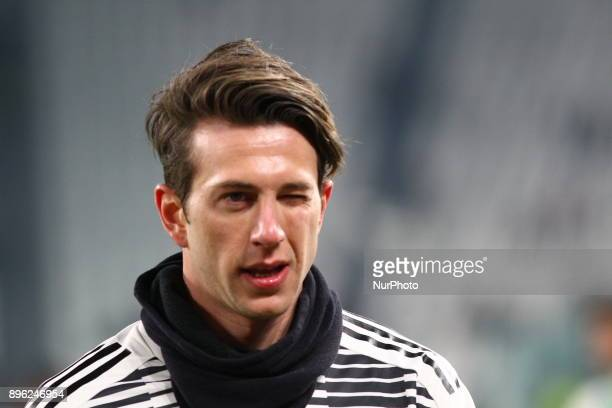 Federico Bernardeschi before the Italian Cup football match between Juventus FC and Geona CFC at Allianz Stadium on 20 December 2017 in Turin Italy