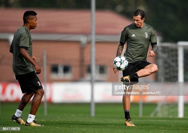 Federico Bernardeschi during a Juventus Training Session at Juventus Center Vinovo on September 26 2017 in Vinovo Italy