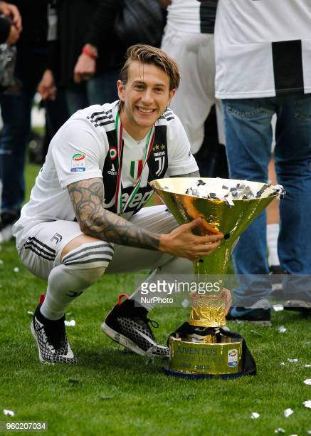 Federico Bernardeschi during serie A match between Juventus v Verona in Turin on May 19 2018