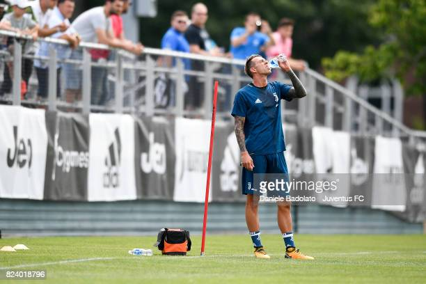 Federico Bernardeschi during the morning training session on July 28 2017 in Boston City