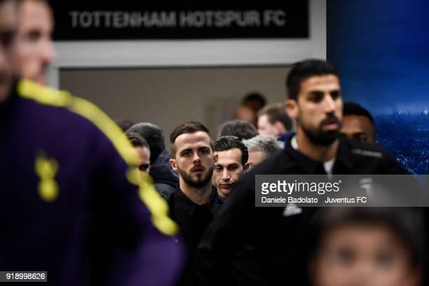 Federico Bernardeschi during the UEFA Champions League Round of 16 First Leg match between Juventus and Tottenham Hotspur at Allianz Stadium on...