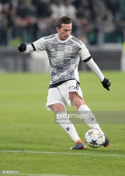 Federico Bernardeschi during the UEFA Champions League round of sixteen first leg football match between Juventus and Tottenham Hotspur at The...