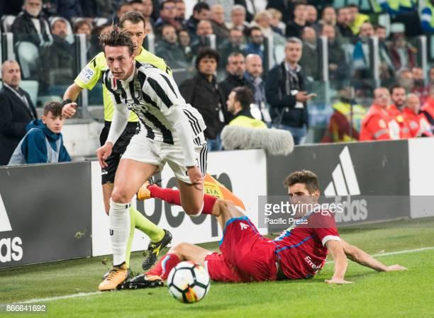 Federico Bernardeschi during theSerie A Juventus FC vs SPAL 2013 at Allianz Stadium Juventus wins 41 Turin Italy 25th october 2017