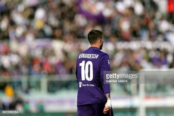 Federico Bernardeschi of ACF Fiorentina during the Serie A match between ACF Fiorentina and Cagliari Calcio at Stadio Artemio Franchi on March 12...