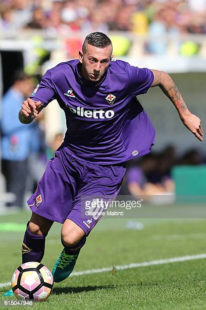 Federico Bernardeschi of ACF Fiorentina in action during the Serie A match between ACF Fiorentina and Atalanta BC at Stadio Artemio Franchi on...