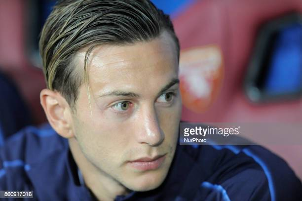 Federico Bernardeschi of Italy player in the bench before the match valid for the Qualifying Round of Fifa World Cup Russia 2018 between Italy...