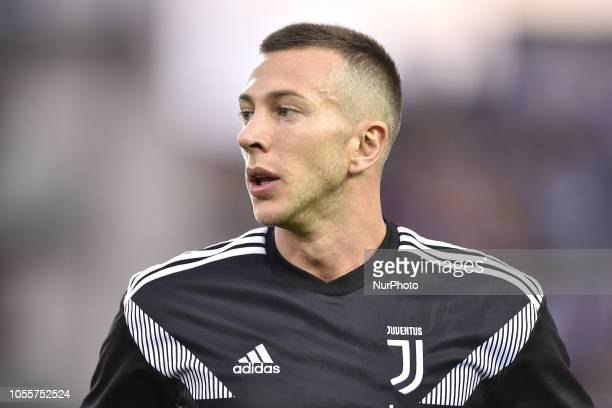 Federico Bernardeschi of Juventus during the Serie A match between Empoli and Juventus at Stadio Carlo Castellani Empoli Italy on 27 October 2018