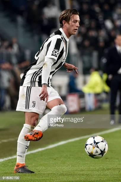 Federico Bernardeschi of Juventus during the UEFA Champions League Round of 16 match between Juventus and Tottenham Hotspur at the Juventus Stadium...