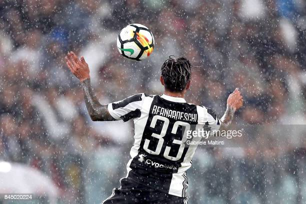 Federico Bernardeschi of Juventus FC in action during the Serie A match between Juventus and AC Chievo Verona on September 9 2017 in Turin Italy