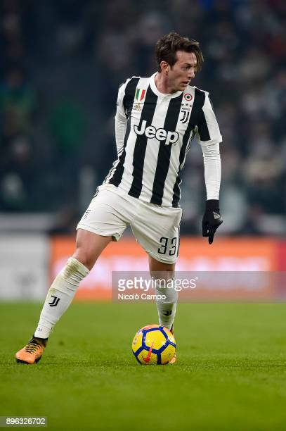 Federico Bernardeschi of Juventus FC in action during the TIM Cup football match between Juventus FC and Genoa CFC Juventus FC won 20 over Genoa CFC