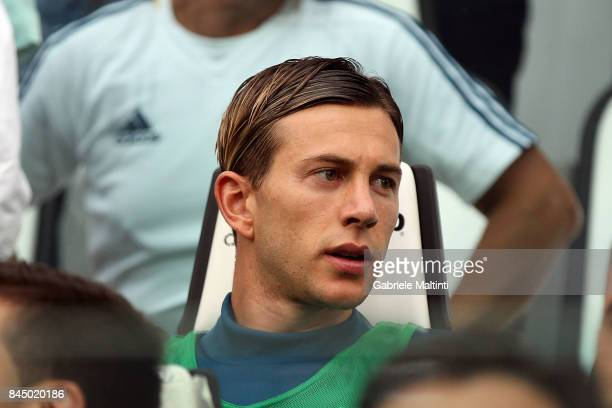 Federico Bernardeschi of Juventus FC looks on during the Serie A match between Juventus and AC Chievo Verona on September 9 2017 in Turin Italy