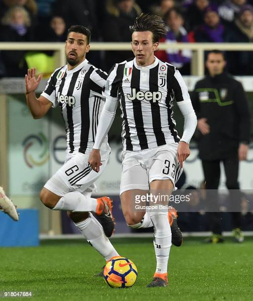 Federico Bernardeschi of Juventus in action during the serie A match between ACF Fiorentina and Juventus at Stadio Artemio Franchi on February 9 2018...