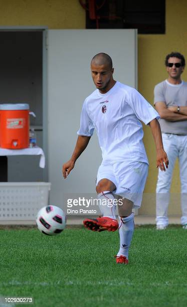 Federico Casarini of Bologna in action during pre season friendly match betwen Bologna and Molveno on July 15 2010 in Andalo Valtellino Italy