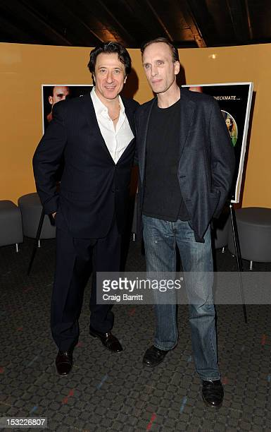 Federico Castelluccio and Peter Greene attend the 'Keep Your Enemies Closer Checkmate' screening at the School of Visual Arts Theater on October 1...