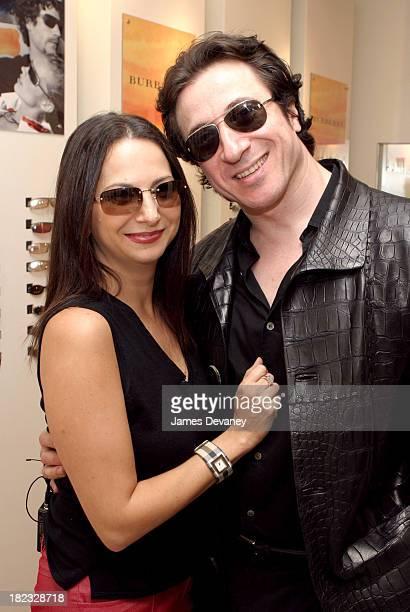 7f6da9938162c Federico Castelluccio and Safilo s Eden Wexler during Federico Castelluccio  of The Sopranos Shops for Sunglasses at. Solstice ...
