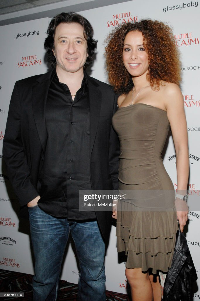 Federico Castelluccio and Yvonne Schaefer attend THE CINEMA SOCIETY hosts a screening of 'MULTIPLE SARCASMS' at AMC Loews 19th Street East on April 19, 2010 in New York City.