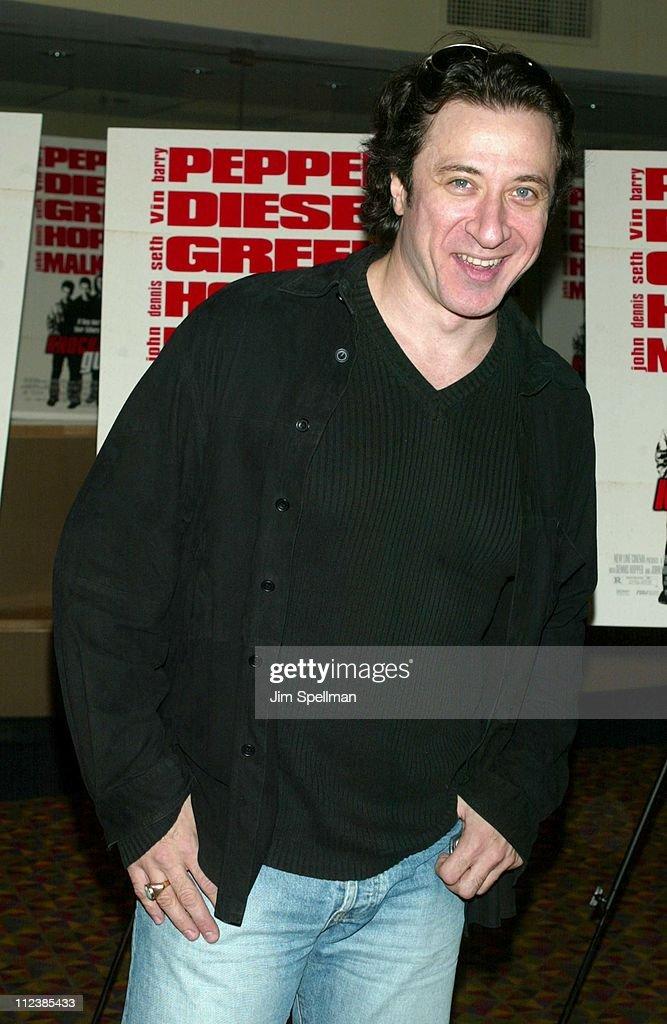 Federico Castelluccio during 'Knockaround Guys' Premiere - New York at AMC Empire 25 Theatre in New York City, New York, United States.