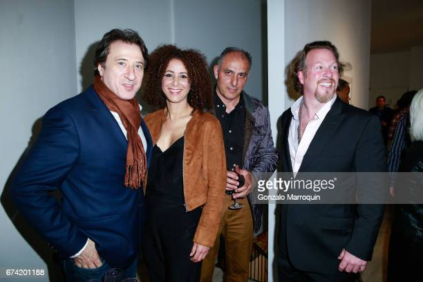 Federico Castelluccio Yvonne Maria Schaefer M Shiraz and Gregory de la Haba attend the Swiss Wine Valais Loves New York hosted by Gregory de la Haba...