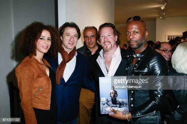 Federico Castelluccio Yvonne Maria Schaefer M Shiraz Gregory de la Haba and Michael Ricardo attend the Swiss Wine Valais Loves New York hosted by...