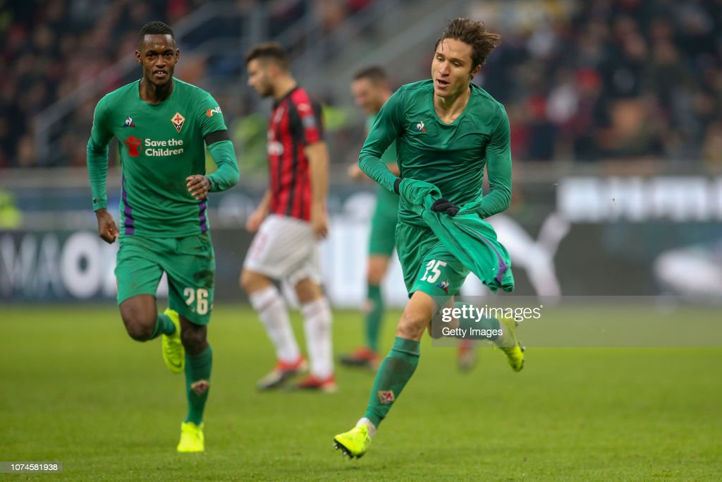 AC Milan v ACF Fiorentina - Serie A : News Photo