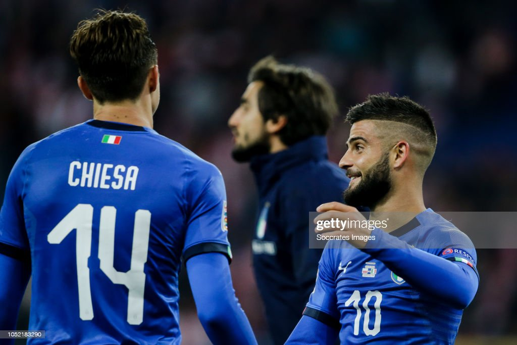 Poland  v Italy  -UEFA Nations league : Fotografía de noticias