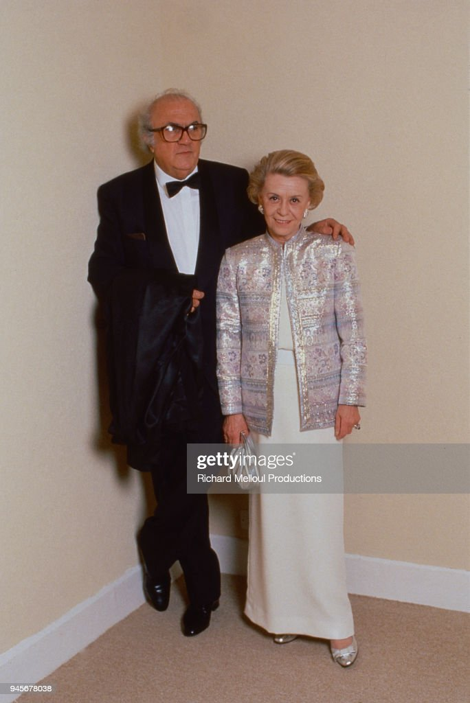 Federico Fellini and his wife Giulietta Masina : News Photo