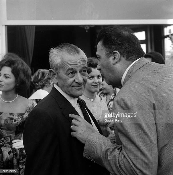 Federico Fellini and William Wyler directors Festival of Cannes 1960
