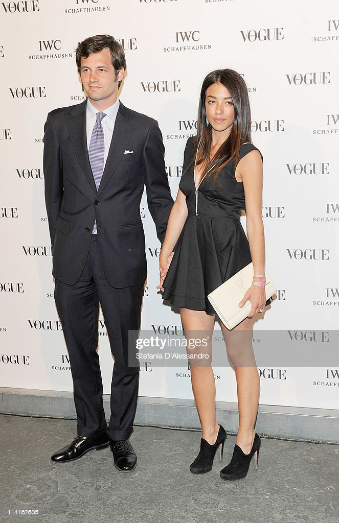 Federico Floriani and Valentina Scambia attend Vogue and IWC present 'Peter Lindbergh's Portofino' at 10 Corso Como on May 12, 2011 in Milan, Italy.