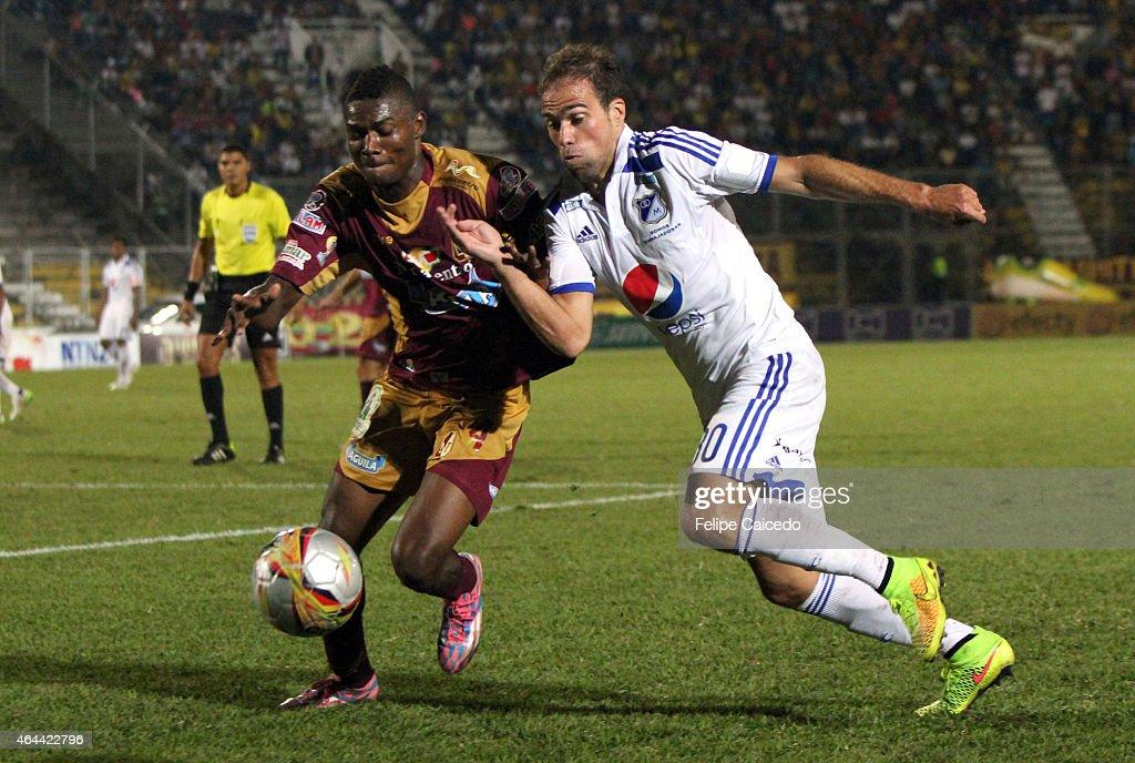 Tolima v Millonarios - Liga Aguila I 2015 : News Photo