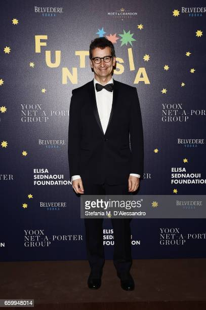 Federico Marchetti attends Elisa Sednaoui Foundation and Yoox Net a Porter Event on March 28 2017 in Milan Italy