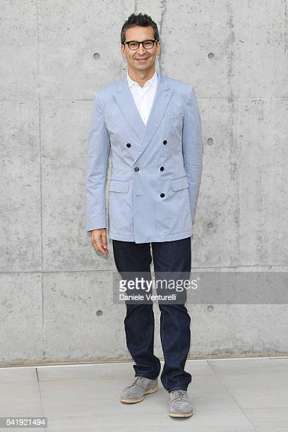 Federico Marchetti CEO of YOOX attends the Giorgio Armani show during Milan Men's Fashion Week SS17 on June 21 2016 in Milan Italy