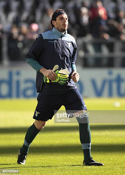 Federico Marchetti during Serie A match between Juventus v Lazio in Turin on January 22 2017