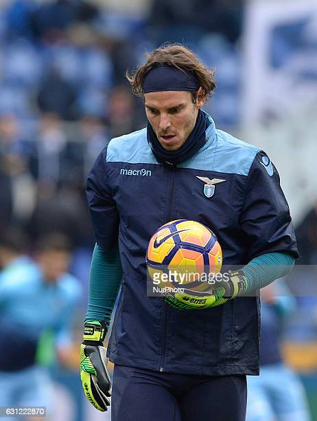Federico Marchetti during the Italian Serie A football match between SS Lazio and FC Crotone at the Olympic Stadium in Rome on janaury 08 2017
