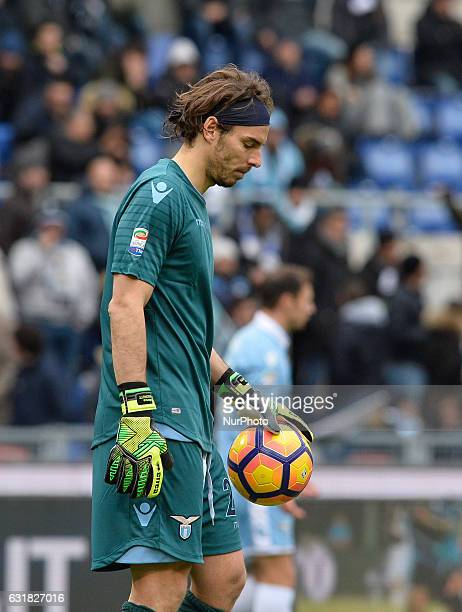Federico Marchetti during the Italian Serie A football match between SS Lazio and AC Atalanta at the Olympic Stadium in Rome on janaury 15 2017