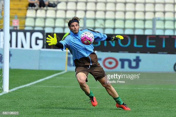 Federico Marchetti Lazio's goalkeeper before the Serie A football match between FC Carpi and SS Lazio at Braglia Stadium in Modena Lazio beat by 3 to...