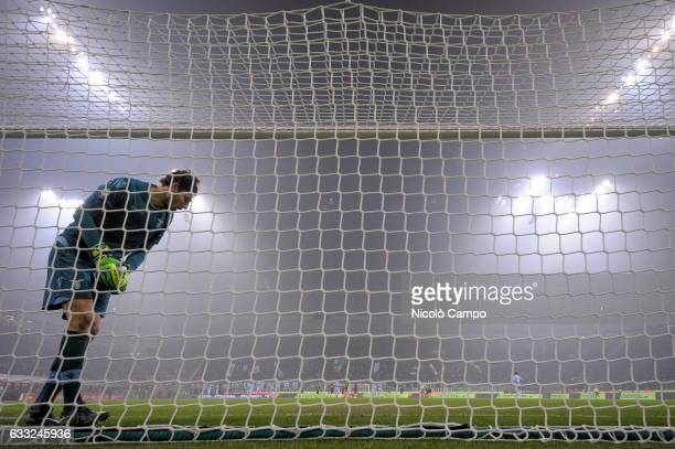 Federico Marchetti of SS Lazio is pictured during the TIM Cup football match between FC Internazionale and SS Lazio SS Lazio wins 21 over FC...