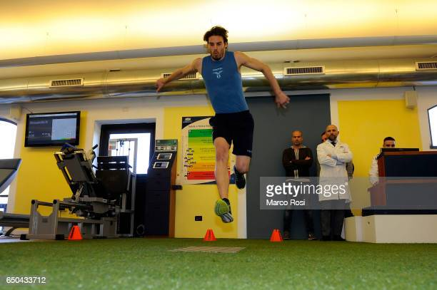 Federico Marchetti of SS Lazio Players attend medical tests on March 9 2017 in Rome Italy
