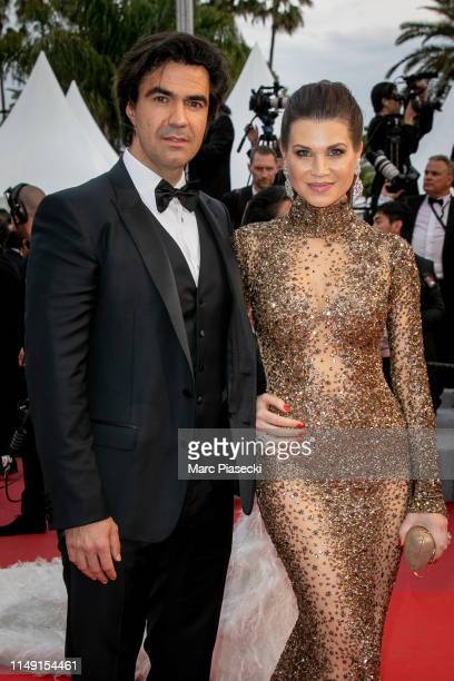 Federico Pastorello and Leona Koenig attend the opening ceremony and screening of The Dead Don't Die during the 72nd annual Cannes Film Festival on...