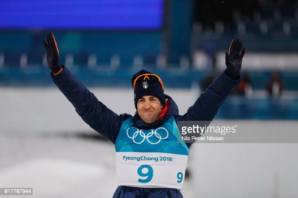 Federico Pellegrino of Italy during the Mens Individual Sprint Classic Finals on day four of the PyeongChang 2018 Winter Olympic Games at Alpensia...