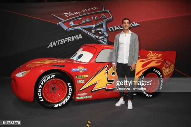 Federico Peluso attends Cars 3 photocall in Milan on September 11 2017 in Milan Italy