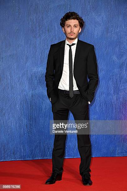 Federico Riccardo Rossi attends the premiere of 'In Dubious Battle' during the 73rd Venice Film Festival at Sala Giardino on September 3, 2016 in...
