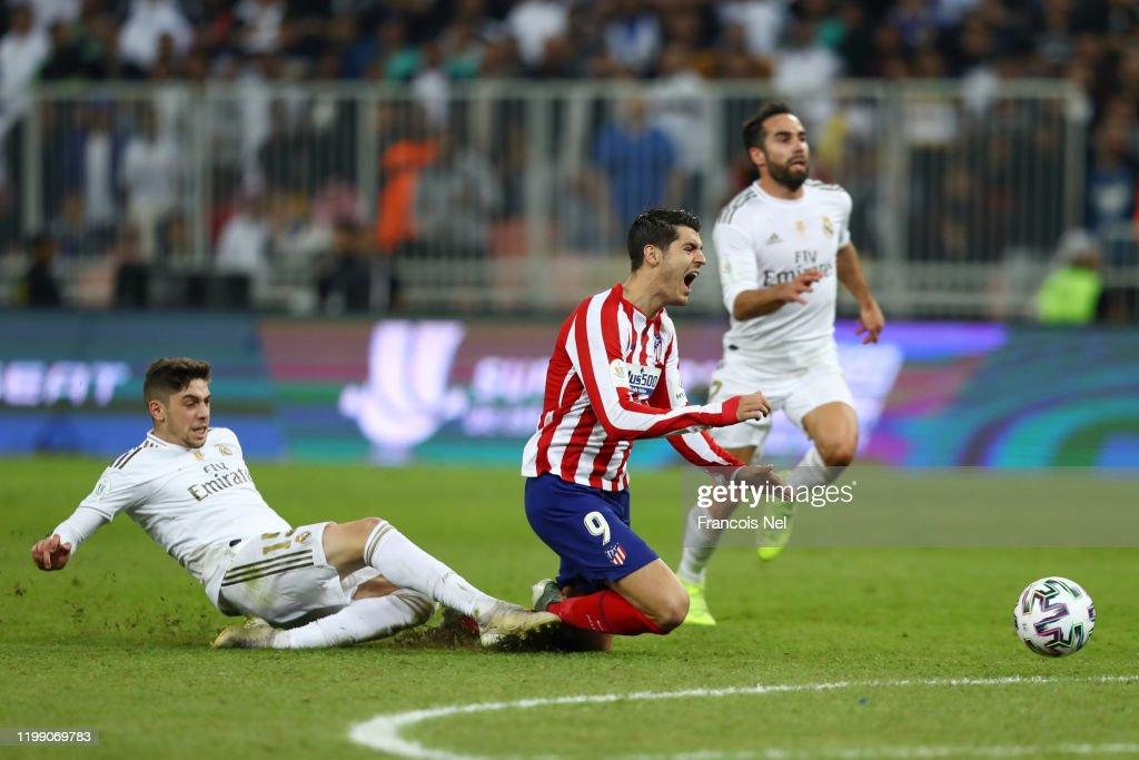 Real Madrid v Club Atletico de Madrid - Supercopa de Espana Final : ニュース写真