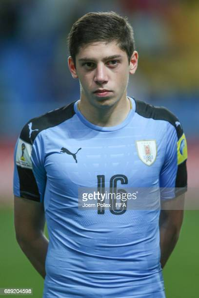 Federico Valverde of Uruguay before the FIFA U20 World Cup Korea Republic 2017 group D match between Uruguay and South Africa at Incheon Munhak...
