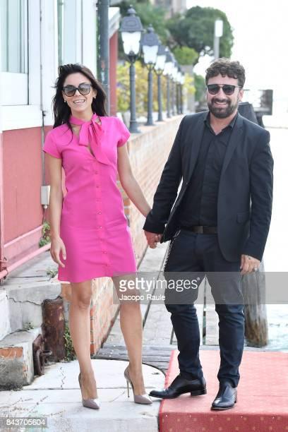 Federico Zampaglione and Giglia Marra are seen during the 74th Venice Film Festival on September 7, 2017 in Venice, Italy.