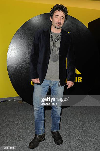 Federico Zampaglione attends the 22th Courmayeur Noir In Festival on December 14 2012 in Courmayeur Italy