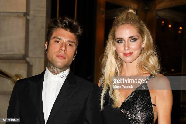Fedez and Chiara Ferragni are seen on September 8 2017 in New York City