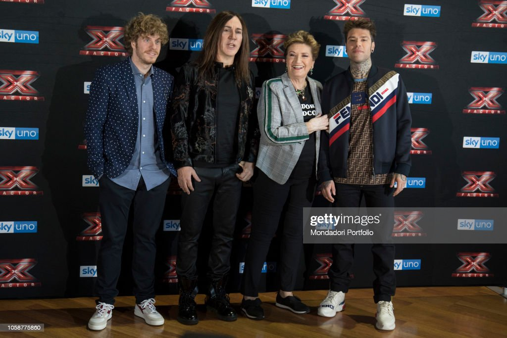 Press Conference of X Factor 2018 : News Photo