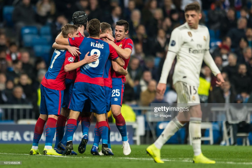 Real Madrid  v CSKA Moscow - UEFA Champions League Group G : News Photo