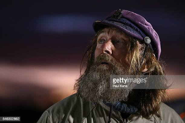 Fedor Konyukhov looks on while preparing for lift off from the Northam Aero Club on July 12 2016 in Northam Australia The 65 year old Russian...