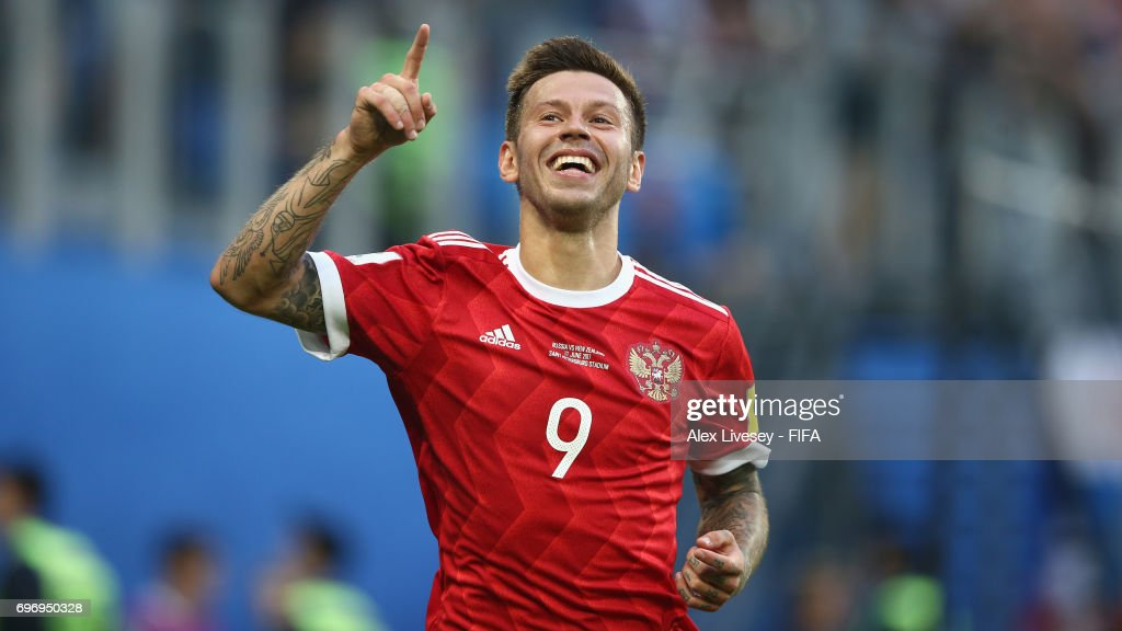 Russia v New Zealand: Group A - FIFA Confederations Cup Russia 2017 : News Photo